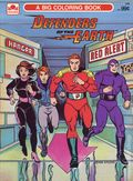 Defenders of the Earth Coloring Book SC (1986 Golden Books) 1-1ST