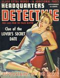 Headquarters Detective (1940) True Crime Magazine Vol. 4 #2