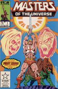Masters of the Universe (1986 Marvel/Star Comics) 1