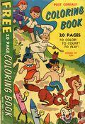 Post Cereals Coloring Book (1955 Post) 0