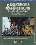 Dungeons and Dragons Curse of Xanathon SC (1982 TSR) Expert Set Adventure Module X3-1ST