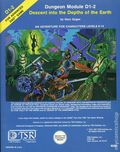 Dungeons and Dragons Descent into the Depths of the Earth SC (1978 TSR) Dungeon Module D1-2-REP