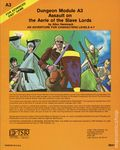 Dungeons and Dragons Assault on the Aerie of the Slave Lords SC (1981 TSR) Dungeon Module A3-REP