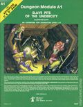 Dungeons and Dragons Slave Pits of the Undercity SC (1980 TSR) Dungeon Module A1-REP
