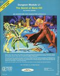 Dungeons and Dragons The Secret of Bone Hill SC (1981 TSR) Dungeon Module L1-1ST