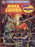 Rock Lords Giant Coloring Book SC (1986 Golden Books) 1-1ST