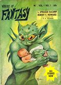 Worlds of Fantasy (1968 Galaxy/Universal) Pulp Vol. 1 #1