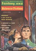 Magazine of Fantasy and Science Fiction (1949-Present Mercury Publications) Vol. 24 #1