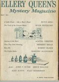 Ellery Queen's Mystery Magazine (1955-1959 Davis-Dell) Text Only Edition Vol. 33 #5