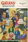 Galaxy Science Fiction (1953-1958 Digest) UK Edition 1