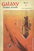Galaxy Science Fiction (1953-1958 Digest) UK Edition 21