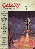 Galaxy Magazine (1958-1962 Digest) UK Edition 70