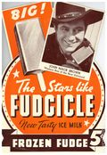 Advertising Sign Stars Like Fudgicle (1937 J. L. Corp) F734A