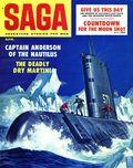 Saga Magazine (1950 2nd Series) Vol. 18 #1