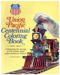 Union Pacific Centennial Coloring Book (1969 Union Pacific Railroad) 0