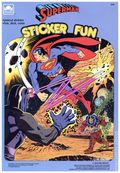 Superman Sticker Fun (1989 Western Publishing Co) 2151