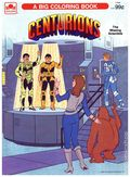 Centurions Coloring Book (1986 Western Publishing Co) 1164
