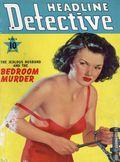 Headline Detective (1939-1944) True Crime Magazine Vol. 2 #3