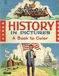 History in Pictures a Book to Color SC (1964 Saalfield) 1614