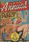 Halt (1942 Crestwood Publishing) Annual 1945