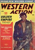 Western Action Novels Magazine (1936-1960 Columbia) 1st Series Pulp Vol. 17 #6