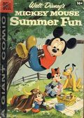 Dell Giant Mickey Mouse Summer Fun (1958) 1B