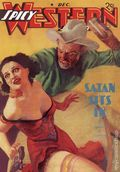 Spicy Western Stories Satan Sits In SC (2005 Adventure House) Decembr 1937 Replica Edition 1-1ST