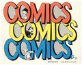 Comics Comics Comics (1973 Houghton Mifflin) 1-1ST