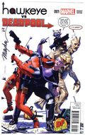 Hawkeye vs. Deadpool (2014) 1DF.SIGNED