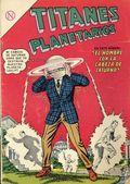 Titanes Planetarios (Spanish Language 1953 Editorial Novaro) 184