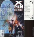 X-Men Unlimited (1993 1st Series) 3CAS.SIGNED