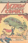 Action Comics (1938 DC) #1 Reprints 1.1976.10CENT