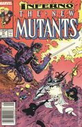 New Mutants (1983 1st Series) Mark Jewelers 71MJ