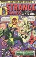Strange Tales (1951-1976 1st Series) UK Edition 184UK
