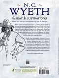 Great Illustrations by N. C. Wyeth SC (2011 Dover) 1-1ST