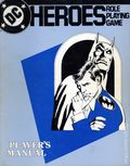 DC Heroes Role-Playing Game Player's Manual SC (1985 Mayfair) 1-1ST