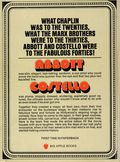 Abbott and Costello Book SC (1975 Popular Library) 1-1ST