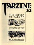 Tarzine (1981 Bill Ross) Fanzine 33