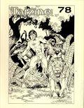 Tarzine (1981 Bill Ross) Fanzine 78