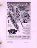 At the Earth's Core Screenplay (1975 Amicus Productions Ltd) 1-1ST