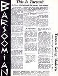 Barsoomian Newsletter (1965 Paul Allen) Fanzine 1