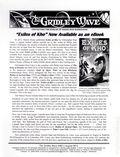 Gridley Wave (1959 Burroughs Bibliophiles) Fanzine 383