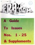 ERB-dom (1960 Camille Cazedessus) Fanzine 1-25GUIDE