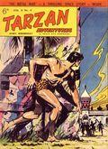 Tarzan Adventures (UK 1953-1959 Westworld Publications) Vol. 8 #4