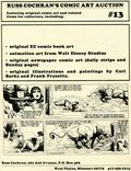 Russ Cochran's Comic Art Auction Catalog (1980 Russ Cochran) 13