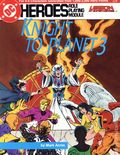 DC Heroes Role Playing Module Knight to Planet 3 (1987 Mayfair) 224-1ST