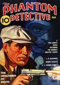 Phantom Detective Mar 1937 Replica SC (2011 Adventure Comics) The Henchmen of Death 1-1ST