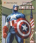 Courageous Captain America HC (2016 A Little Golden Book) 1-REP
