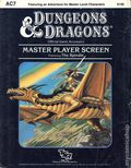 Dungeons and Dragons Master Player Screen (1985 TSR) Gaming Module AC7