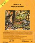 Advanced Dungeons and Dragons Dungeon Masters Screen (1979 TSR) Gaming Module 0-2ND